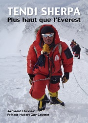Tendi Sherpa, plus haut que l'Everest, un livre d'Armand Dussex